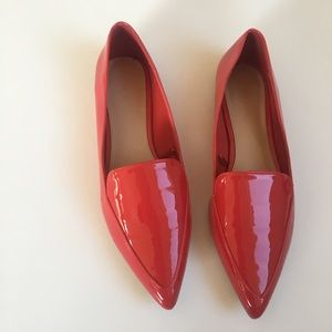Forever 21 Red Patent Flats